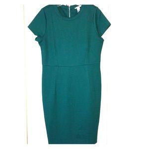 Woven Green Dress